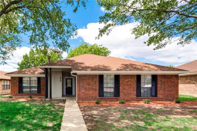 210 S Alder Drive, Allen, TX 75002 (MLS #14071422) :: Hargrove Realty Group
