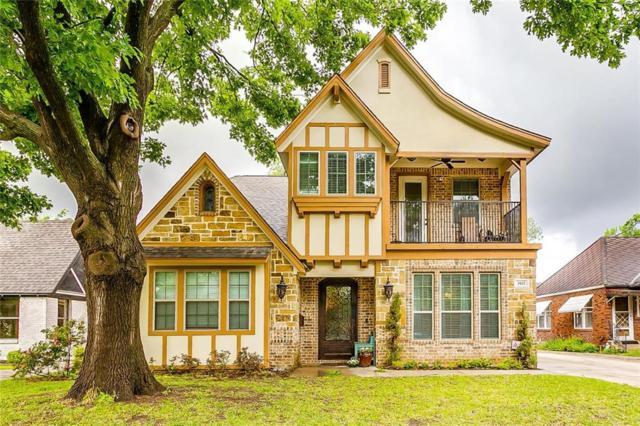 3412 Cockrell Avenue, Fort Worth, TX 76109 (MLS #14071779) :: Van Poole Properties Group