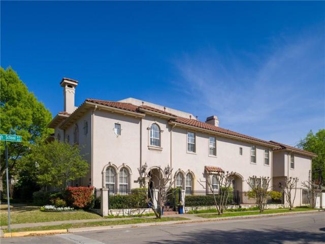 3489 Mcfarlin Boulevard, University Park, TX 75205 (MLS #14072095) :: RE/MAX Landmark