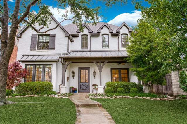 3708 Purdue Avenue, University Park, TX 75225 (MLS #14072151) :: RE/MAX Town & Country