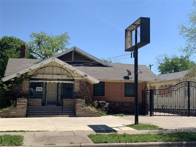2715 Hemphill Street, Fort Worth, TX 76110 (MLS #14072200) :: The Hornburg Real Estate Group
