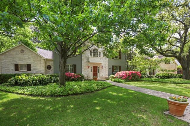 5922 Joyce Way, Dallas, TX 75225 (MLS #14072422) :: The Hornburg Real Estate Group