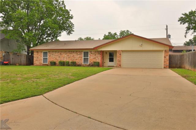 5301 Hunters Circle, Abilene, TX 79606 (MLS #14072639) :: Baldree Home Team