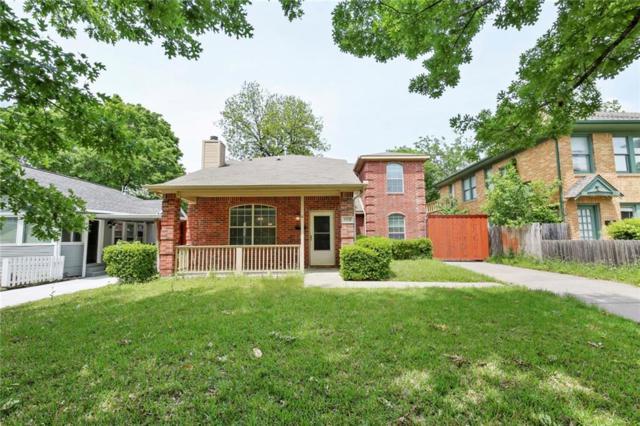 5331 Miller Avenue, Dallas, TX 75206 (MLS #14072798) :: Robbins Real Estate Group