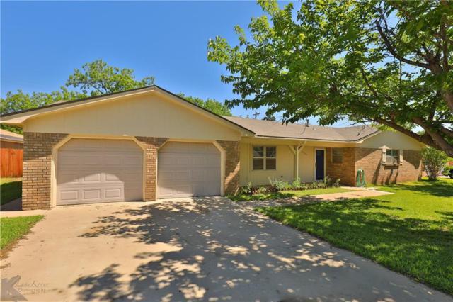 2966 Arrowhead Drive, Abilene, TX 79606 (MLS #14073491) :: Hargrove Realty Group