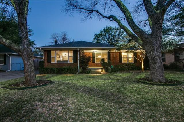 6734 Blessing Drive, Dallas, TX 75214 (MLS #14073646) :: The Paula Jones Team | RE/MAX of Abilene