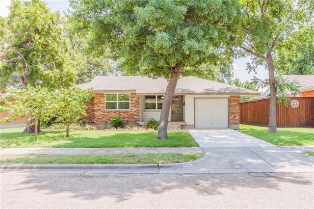2506 Lakewood Drive, Garland, TX 75042 (MLS #14073671) :: Lynn Wilson with Keller Williams DFW/Southlake