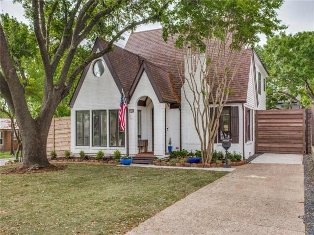 5946 Vickery Boulevard, Dallas, TX 75206 (MLS #14073932) :: Baldree Home Team