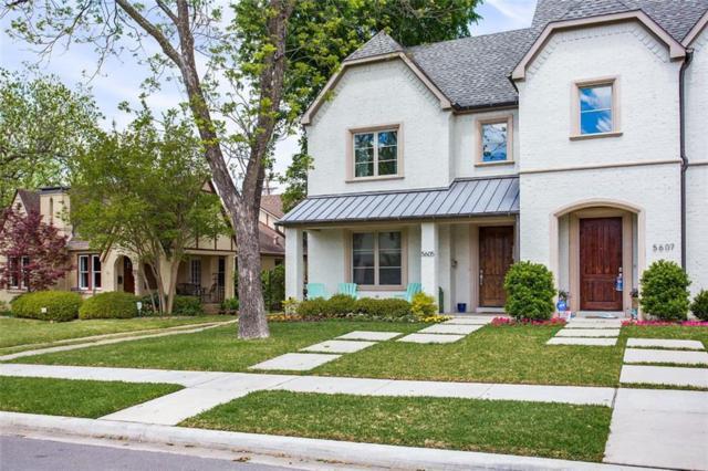 5605 Longview Street, Dallas, TX 75206 (MLS #14074105) :: Robbins Real Estate Group