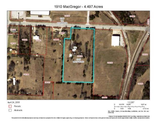 1910 Macgregor Drive, Denison, TX 75020 (MLS #14074187) :: Potts Realty Group
