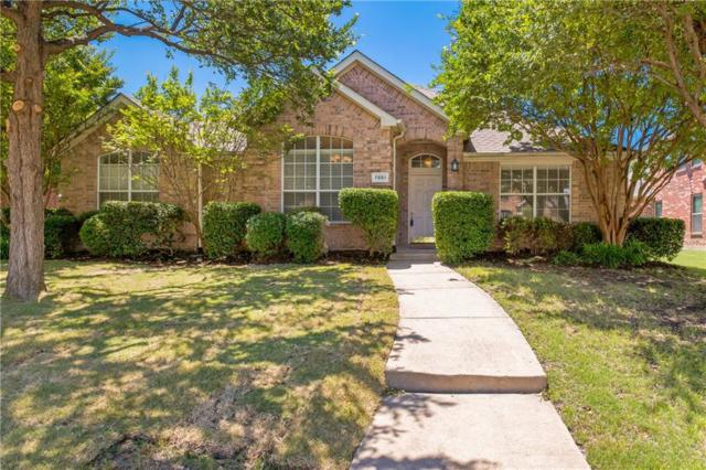 7851 Palisades Drive, Frisco, TX 75036 (MLS #14074375) :: The Tierny Jordan Network
