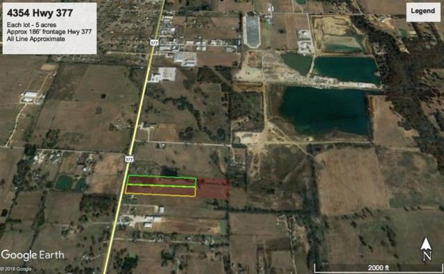 4354 377 Highway, Aubrey, TX 76227 (MLS #14074443) :: The Tierny Jordan Network