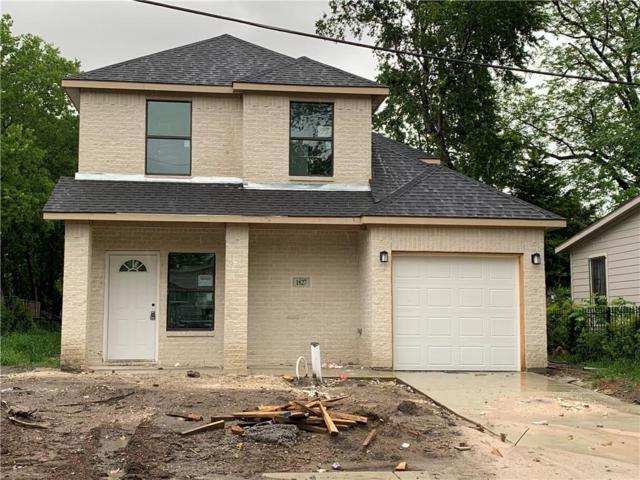 1827 Morris Street, Dallas, TX 75212 (MLS #14074627) :: The Mitchell Group