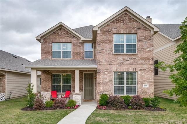 1029 Marietta Lane, Savannah, TX 76227 (MLS #14074950) :: Real Estate By Design