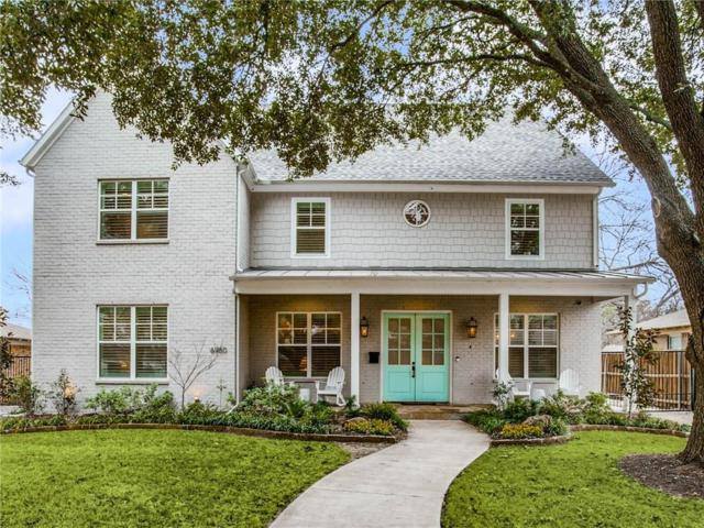 6950 Santa Maria Lane, Dallas, TX 75214 (MLS #14074981) :: Robbins Real Estate Group