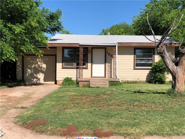 1225 S La Salle Drive, Abilene, TX 79605 (MLS #14075478) :: The Rhodes Team