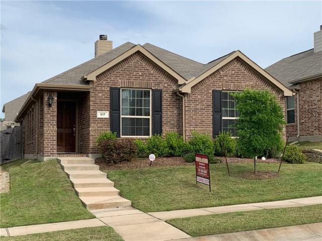517 Pawnee Street, Aubrey, TX 76227 (MLS #14075525) :: Real Estate By Design
