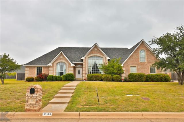 1310 Saddle Lakes Drive S, Abilene, TX 79602 (MLS #14075692) :: Lynn Wilson with Keller Williams DFW/Southlake