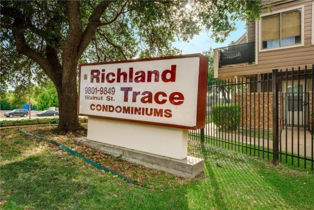 9829 Walnut Street #207, Dallas, TX 75243 (MLS #14076357) :: The Mitchell Group