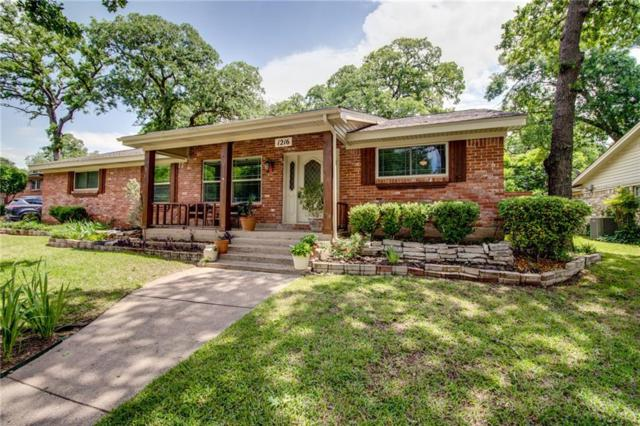 1216 Brookside Drive, Hurst, TX 76053 (MLS #14077069) :: The Chad Smith Team