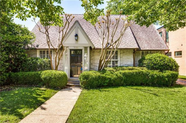 5726 W Amherst Avenue, Dallas, TX 75209 (MLS #14077589) :: Robbins Real Estate Group