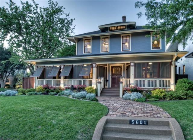 5601 Miller Avenue, Dallas, TX 75206 (MLS #14077648) :: Robbins Real Estate Group
