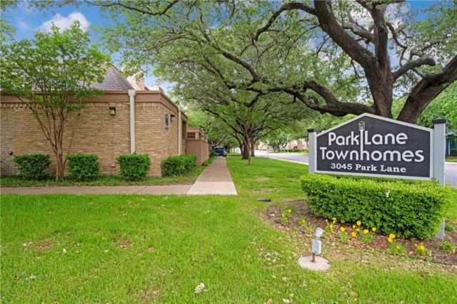 3045 Park Lane #1045, Dallas, TX 75220 (MLS #14078571) :: The Hornburg Real Estate Group