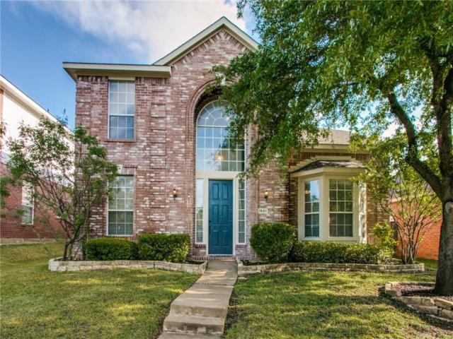 1681 Big Bend Drive, Lewisville, TX 75077 (MLS #14078765) :: The Heyl Group at Keller Williams