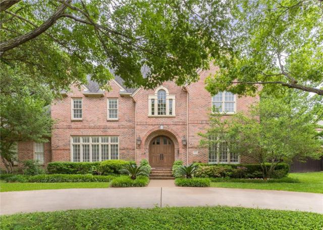 6530 Meadow Road, Dallas, TX 75230 (MLS #14078898) :: The Hornburg Real Estate Group