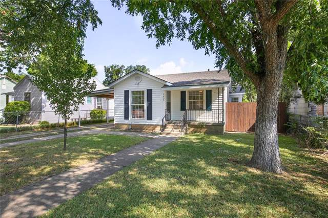 2435 Burlington Boulevard, Dallas, TX 75211 (MLS #14079102) :: RE/MAX Landmark