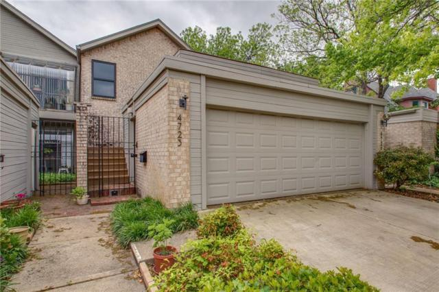 4723 Collinwood Avenue, Fort Worth, TX 76107 (MLS #14079388) :: The Rhodes Team