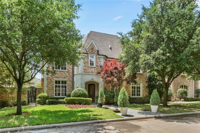 6910 Oak Manor Drive, Dallas, TX 75230 (MLS #14079409) :: Kimberly Davis & Associates