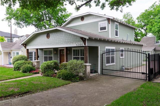 5205 Willis Avenue, Dallas, TX 75206 (MLS #14079515) :: Robbins Real Estate Group