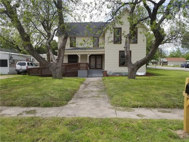 103 S Avenue J, Clifton, TX 76634 (MLS #14079687) :: The Hornburg Real Estate Group