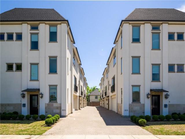 3515 Normandy Avenue #7, Highland Park, TX 75205 (MLS #14079954) :: Team Hodnett