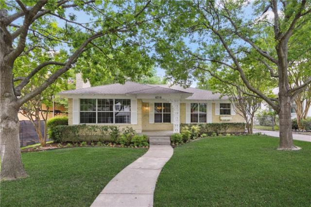 6716 Blue Valley Lane, Dallas, TX 75214 (MLS #14080138) :: Robbins Real Estate Group
