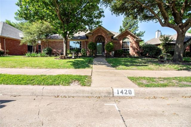 1420 Country Lane, Allen, TX 75002 (MLS #14080512) :: The Good Home Team