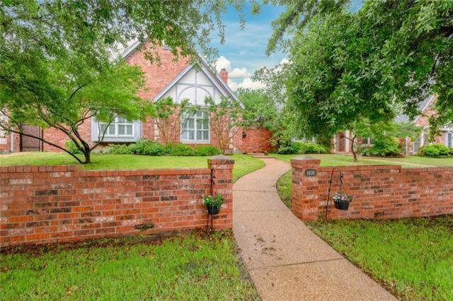 1408 Belle Place, Fort Worth, TX 76107 (MLS #14081559) :: RE/MAX Landmark