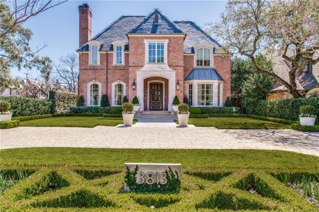 3813 Maplewood Avenue, Highland Park, TX 75205 (MLS #14081848) :: The Hornburg Real Estate Group