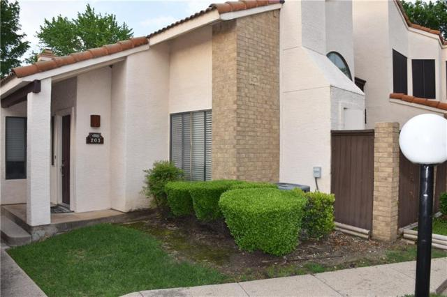 555 Ranch Trail #203, Irving, TX 75063 (MLS #14081916) :: Vibrant Real Estate