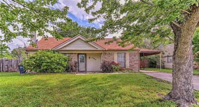 7425 Canoga Circle, Fort Worth, TX 76137 (MLS #14082137) :: The Hornburg Real Estate Group