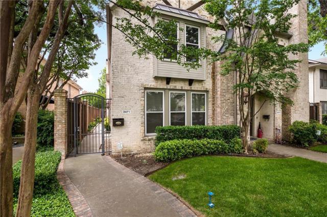 3471 Mcfarlin Boulevard, University Park, TX 75205 (MLS #14082143) :: RE/MAX Landmark