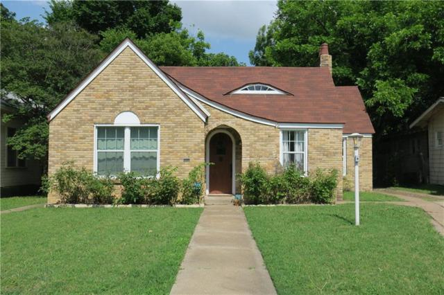 2811 Travis Avenue, Fort Worth, TX 76110 (MLS #14082526) :: The Rhodes Team