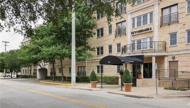 3400 Welborn Street #310, Dallas, TX 75219 (MLS #14082641) :: Van Poole Properties Group