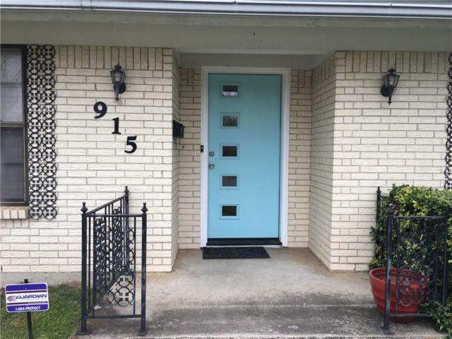 915 Raintree Road, Fort Worth, TX 76103 (MLS #14083164) :: The Hornburg Real Estate Group