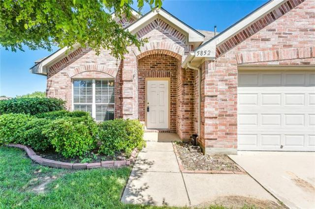 5852 Arena Circle, Fort Worth, TX 76179 (MLS #14084541) :: The Hornburg Real Estate Group