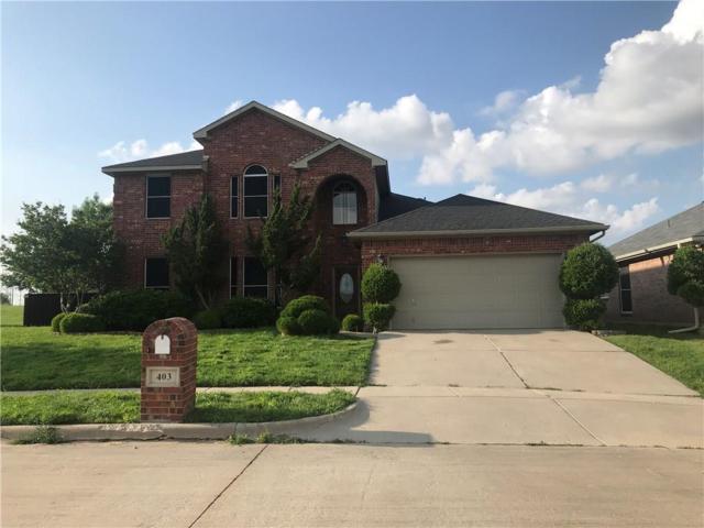 403 Quail Roost Lane, Arlington, TX 76002 (MLS #14085329) :: Baldree Home Team