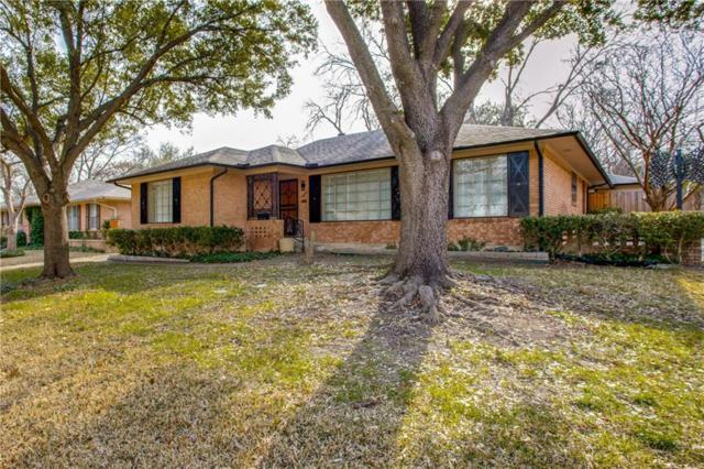 7036 Freemont Street, Dallas, TX 75231 (MLS #14085416) :: Baldree Home Team