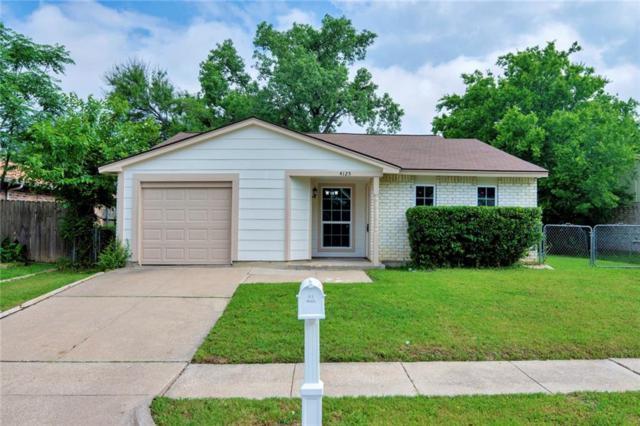 4125 Pepperbush Drive, Fort Worth, TX 76137 (MLS #14085423) :: The Hornburg Real Estate Group