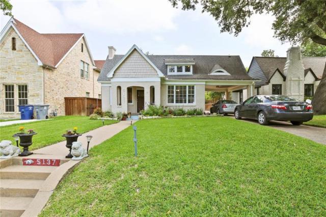 5137 Goodwin Avenue, Dallas, TX 75206 (MLS #14085446) :: Robbins Real Estate Group